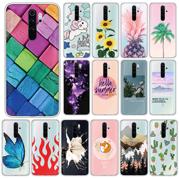 Silicone Case For Xiaomi Redmi Note 8 Pro TPU 6.53 Phone Cases For Xiomi Redmi Note8 Pro Note8Pro Soft Cute Cover Fundas Coque image