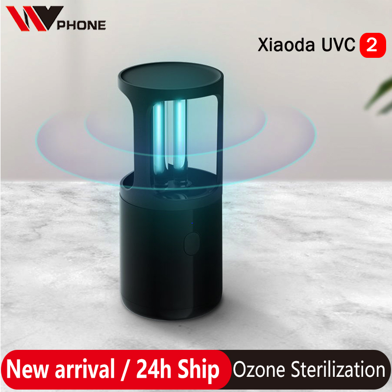 Xiaomi Xiaoda Portable UVC 2 UVC Germicidal Disinfection Lamp Ozone Sterilization Table Ultraviolet UV Sterilizer Light Tube
