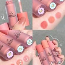Daimanpu matte veludo blush líquido blush pallete face power naturalmente ilumina o tom da pele sombra blush para rosto cosméticos coreanos