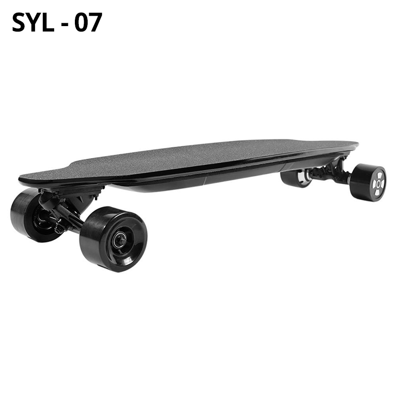 SYL-07 <font><b>Electric</b></font> Skateboard Dual 600W Motors 36V 6600mAh Battery Max Speed 40km/h Endurance 20-30km <font><b>Scooter</b></font> With Remote Control image
