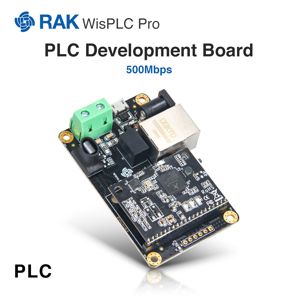 WisPLC Pro Open Source Hardware Development Board LX200V30 Module With Power Line Ethernet Interface Network Adapter500MbpsQ085