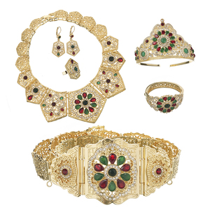 Luxury wedding jewelry set col