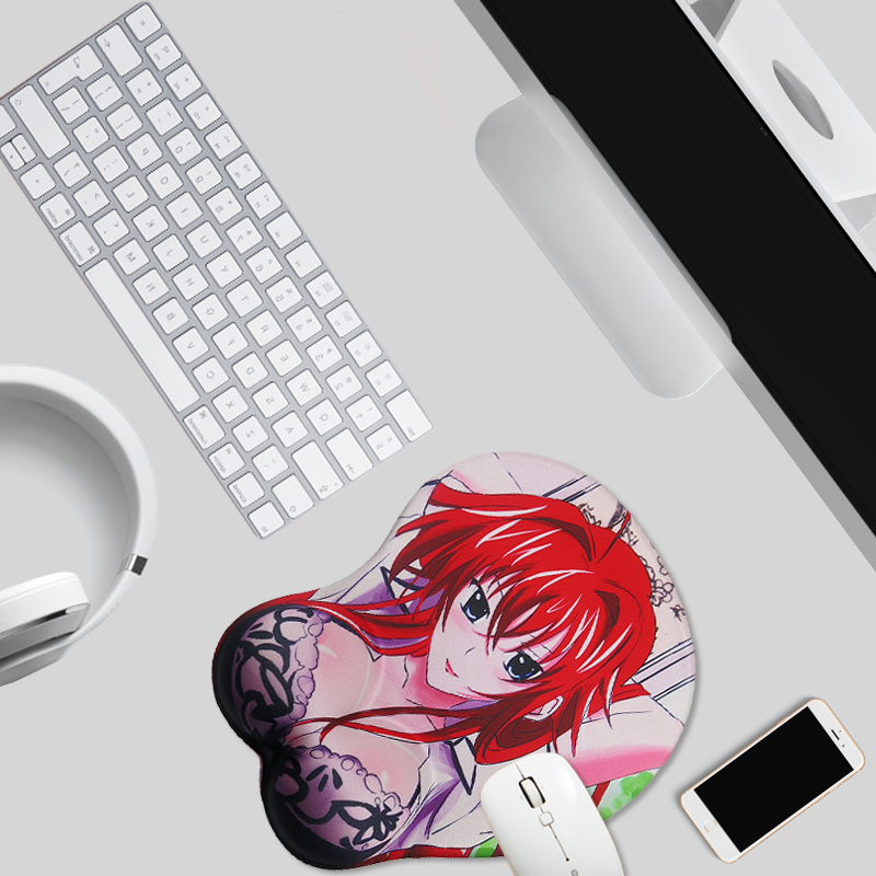 <font><b>3D</b></font> Mouse Pad Mat Wrist Rest <font><b>Mousepad</b></font> <font><b>Sexy</b></font> Breast Gaming Japan Anime Gaming <font><b>Mousepad</b></font> Anime Gaming <font><b>Mousepad</b></font> Wrist Rest Mat image