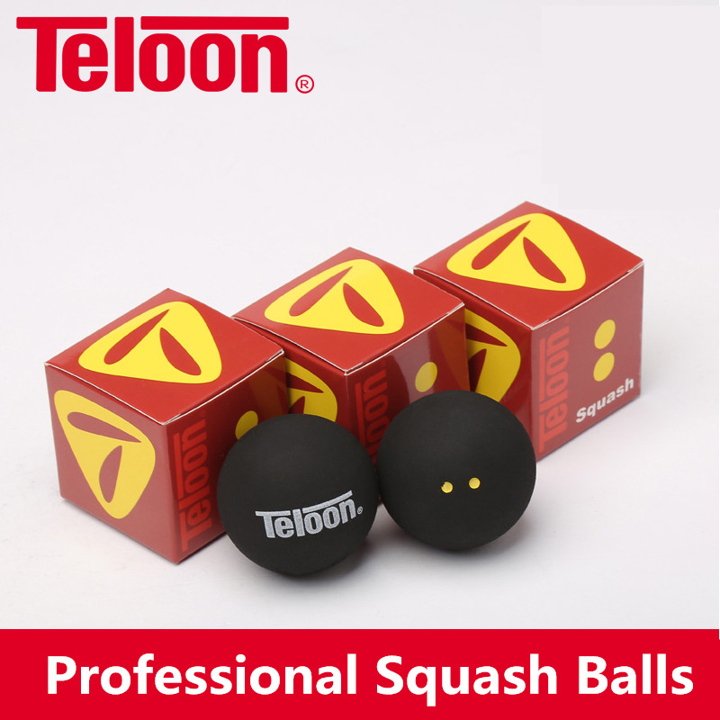 Teloon Squash Ball Different Speed For Professional Intermediate Beginner Racquet Rackets Squash Raquetas Ball K025SPC