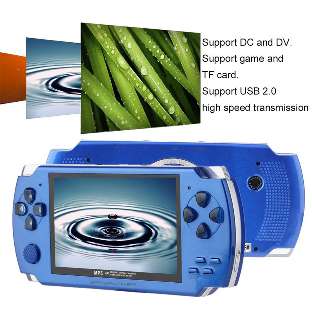 4 3 Inch 480 272 High Speed TFT Display Hand-held Video Game Console Player Compact Portable Video Music Game Console