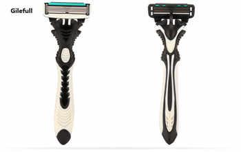 New Pro 16pcs/lot DORCO Pace 6 Sharp Razor Blades For Men Shaver Razors Mens Personal Disposable Shaving Safety Razor Blades