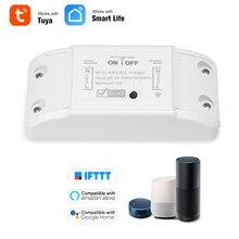 Tuya Wifi commutateur intelligent minuterie sans fil commutateur à distance universel Module domotique intelligent pour Alexa Google Home