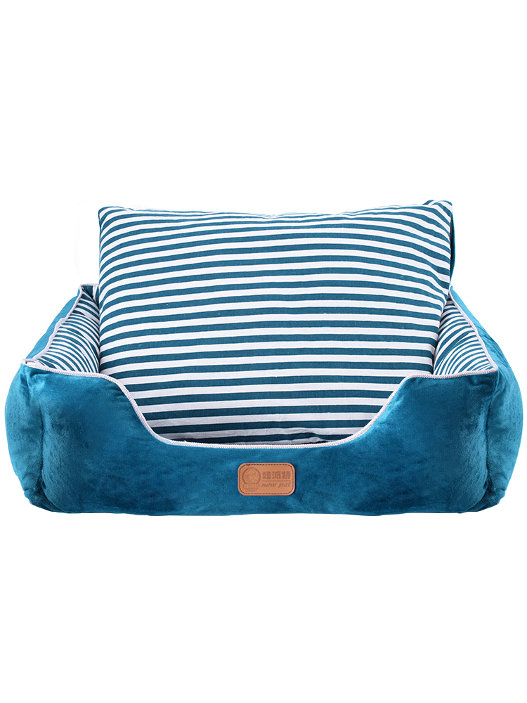 Dog Kennel Pet Item Teddy  Bed Beds for Large Dogs Hand Wash Breathable 100% Cotton Small Puppy