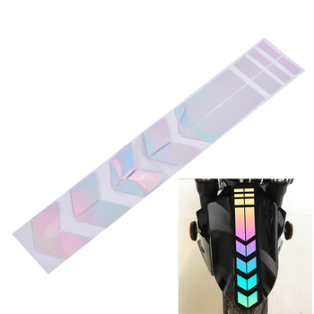 1pc Waterproof Decors Universal Car Motorcycle Reflective Stickers Wheel Car Decals On Fender image