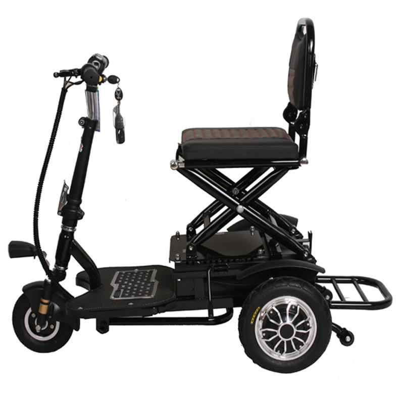 8 Inch Tricycle Scooter Electric Elderly Three Wheels Electric Scooter 350W 48V Portable Electric Scooter For Disabled