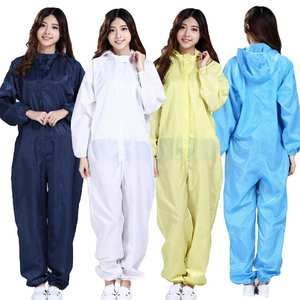Hospital-Safety-Clothing Jumpsuit Coveralls Isolation-Protective Disposable Zip Unisex