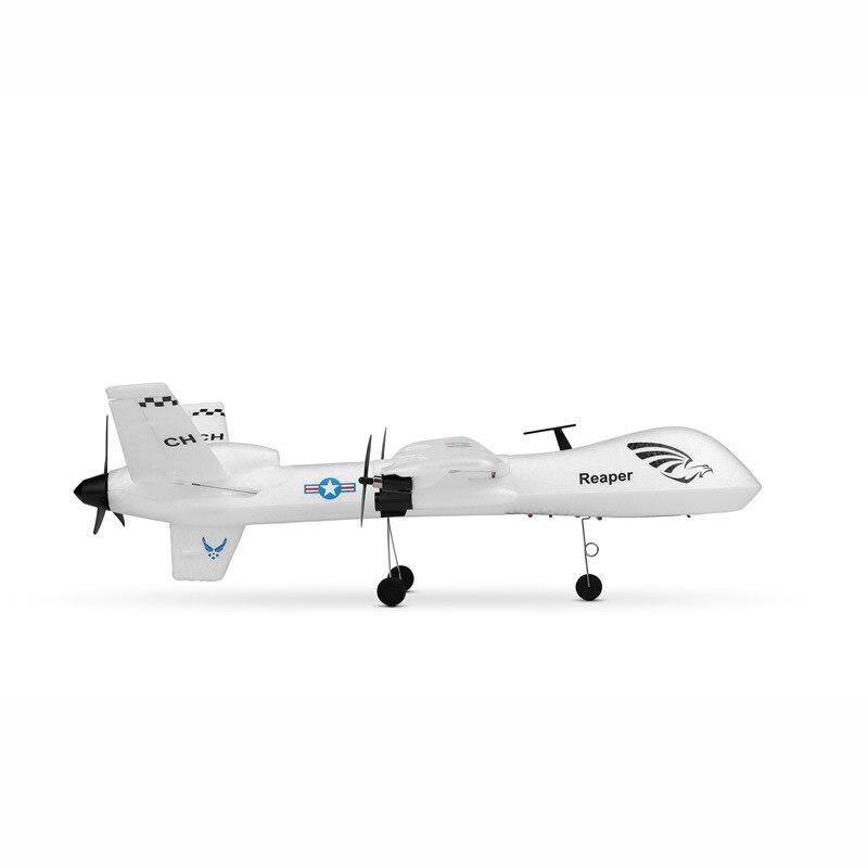 Weili XK A110-Predator MQ-9 Three-Channel Fixed-Wing Remote Control Glider DIY Assembled Airplane Model Toy