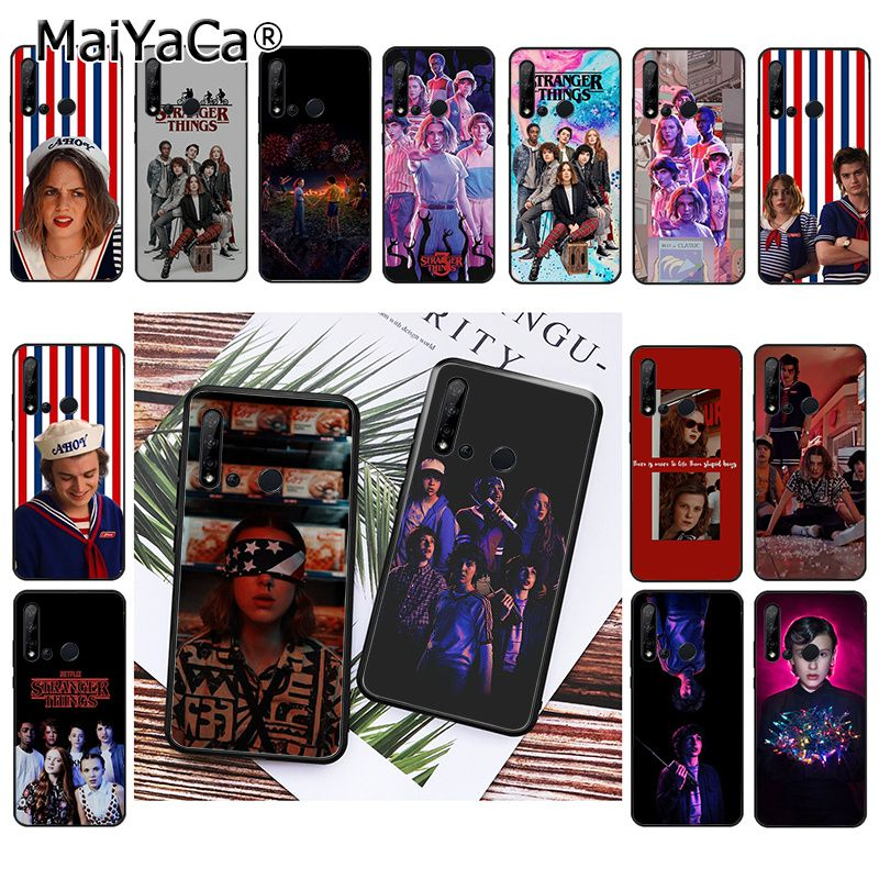 MaiYaCa <font><b>Stranger</b></font> <font><b>Things</b></font> Season 3 <font><b>Phone</b></font> <font><b>Case</b></font> for <font><b>Huawei</b></font> <font><b>P20</b></font> P30 P20Pro P20Lite P30Lite PSmart P10 P9 <font><b>Lite</b></font> image