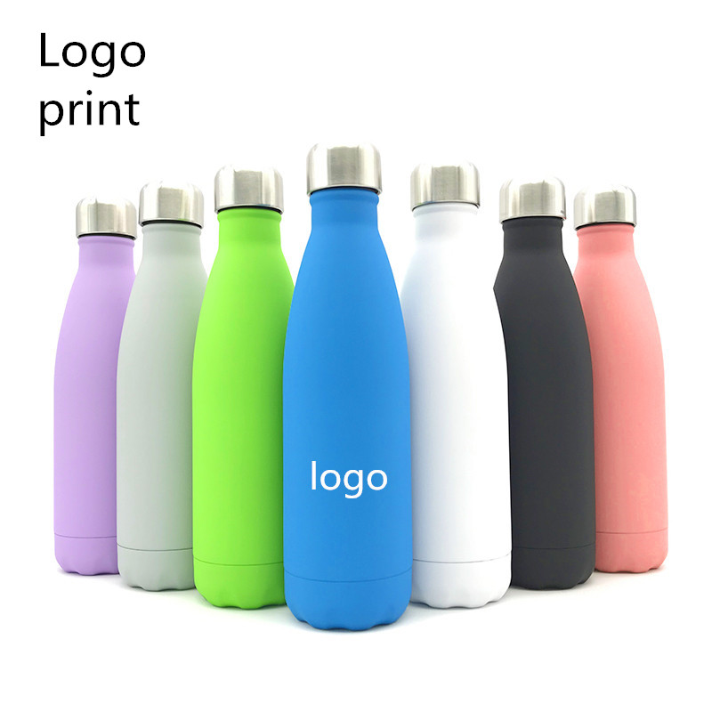 Logo Custom/Advertising Cup Thermos Bottle Vacuum Flasks Thermoses Cup Thermocup Thermal Bottle For Water Thermocouple 500ML