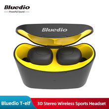 Original Bluedio T-elf TWS BT 5.0 Mini Earphone 3D Stereo Wireless Sports Headset Deep Bass