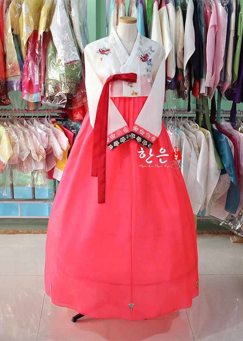 Korea Original Hand Embroidery Hanbok / Wedding Hanbok / Traditional Hanbok / Authentic Hanbok