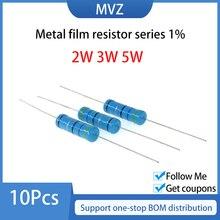 Металлический пленочный резистор серии 1% 2 Вт 3 Вт 5 Вт 2 K 2,2 2,4 2,7 3 K 3,3 3,6 3,9 KR 4,3 4,7 5,1 5,6 6,2 KOhm 6,8 7,5 8,2 9,1 10 12 ком