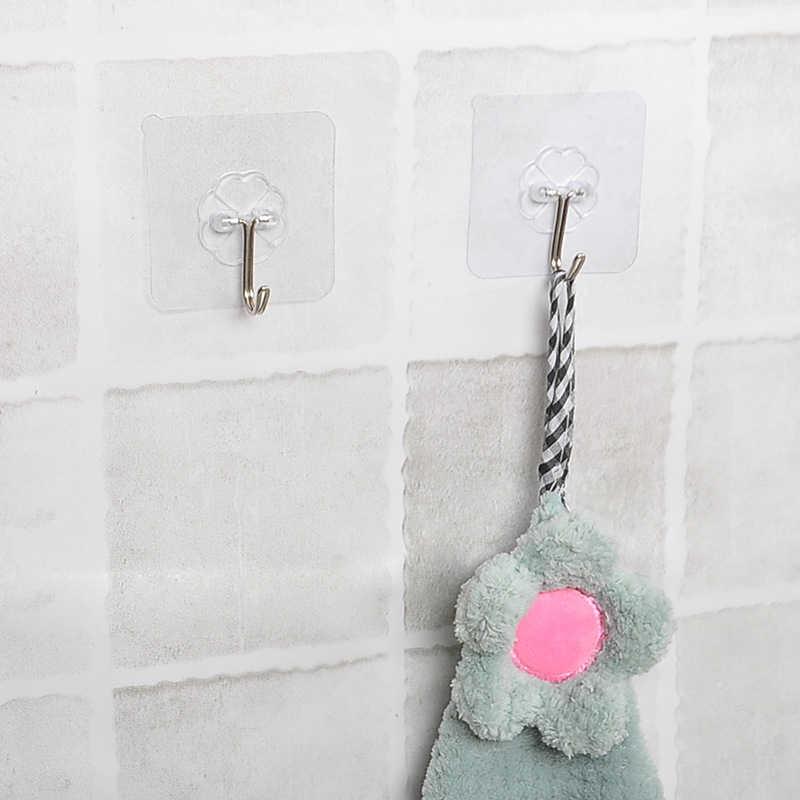 Cartoon Starken Klebstoff Haken Wand Tür Sticky Hanger Halter Küche Bad Wasserdichte Wand Haken Nahtlose Klebe Haken