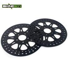 """BIKINGBOY 11.8"""" Front Brake Discs Disks Rotors For Harley Touring 1690 FLHX FLHTC 11 13 FLHT 12 13 FLHTC 11 13 FLHTCUSE 1800"""