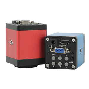 Image 3 - แนวตั้งซูม3.5X 90X Simul Focalกล้องจุลทรรศน์สเตอริโอTrinocular + HDMI VGA 14MPกล้องจุลทรรศน์กล้องสำหรับPCBบัดกรี