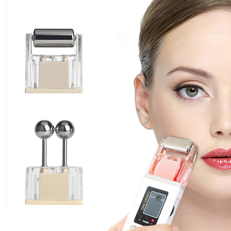 Microcurrent Facial Massager Skin Tightening Trinity Iontophoresis Facial Lift Machine Skin Wrinkle Removal Toning Massage
