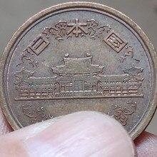 23,5 мм дужки Япония, настоящая монета, оригинальная коллекция