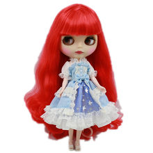 Handmade Blyth Doll Clothes Lace Princess Dress Blyth Doll Accessories Fit Joint Azone, Licca, 1/6 BJD/SD Doll, ICY Dolls(China)