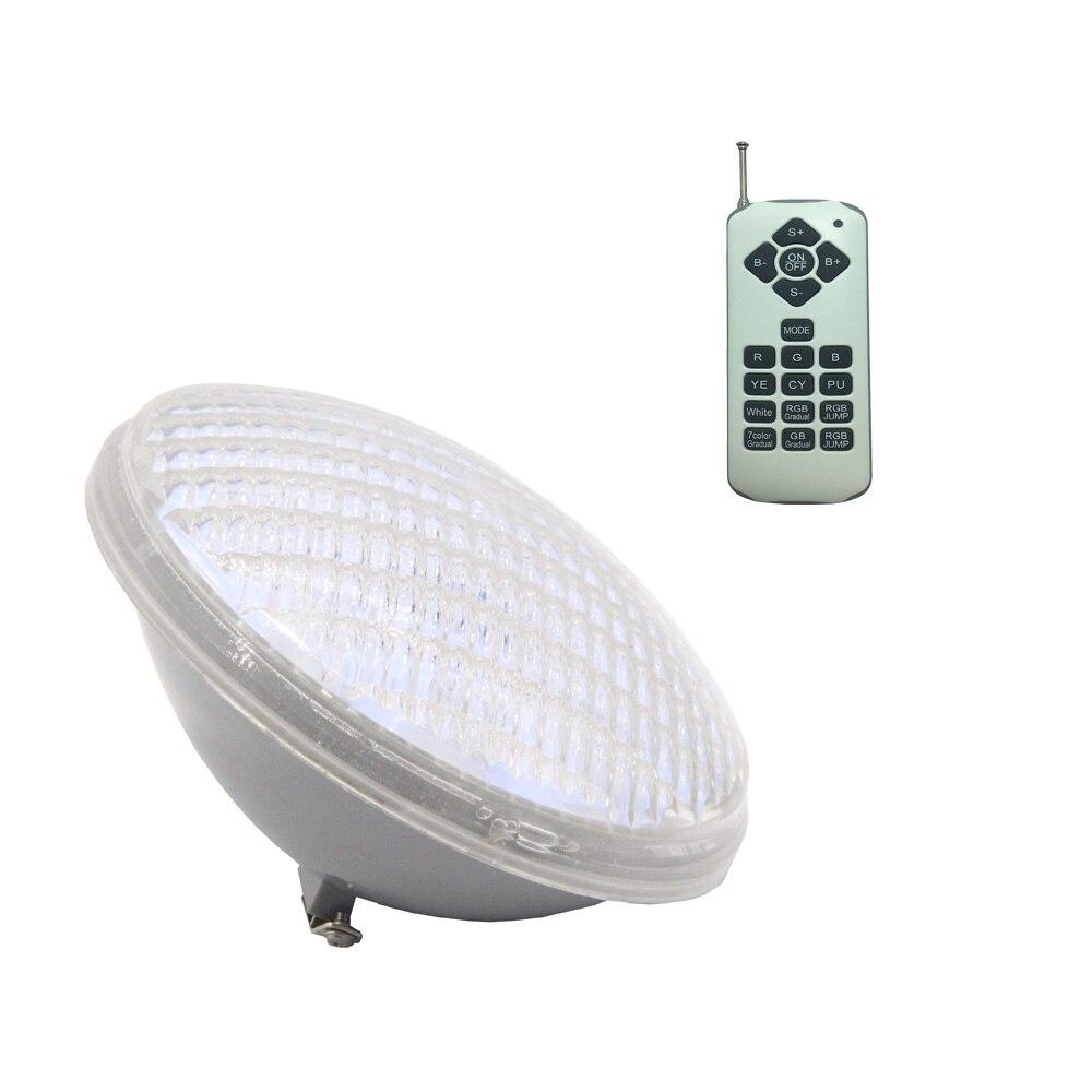 Işıklar ve Aydınlatma'ten LED Sualtı Lambaları'de 18W 36W 54W Projecteur LED Piscine Sualtı havuz aydınlatması 12V PAR 56 RGB Spot Sıcak Beyaz Soğuk beyaz title=