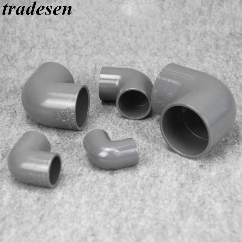 1Pc Pvc Id 20/25/32/40/50Mm Waterleiding Fittingen Elleboog Connectors plastic Joint Irrigatie Water Delen Upvc Pijp Adapter