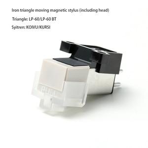 Image 4 - Cartouche magnétique stylet LP vinyle aiguille tourne disque tête denregistrement Audio remplacement stylet lecteur daiguille pour lecteur de disque vinyle