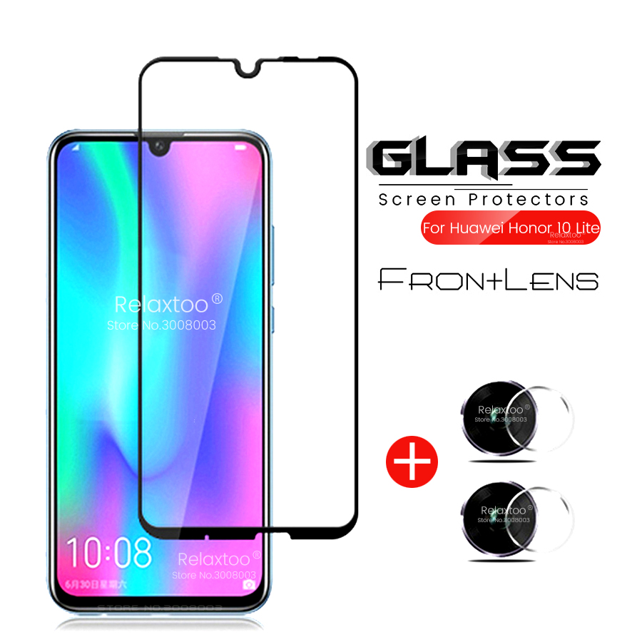 Honor Lite 10 Glass Camera Glass On Honor 10 Lite Light Armor Protection Film On Honer 10lite 10light Honor10lite Hry-lx1 6.21''