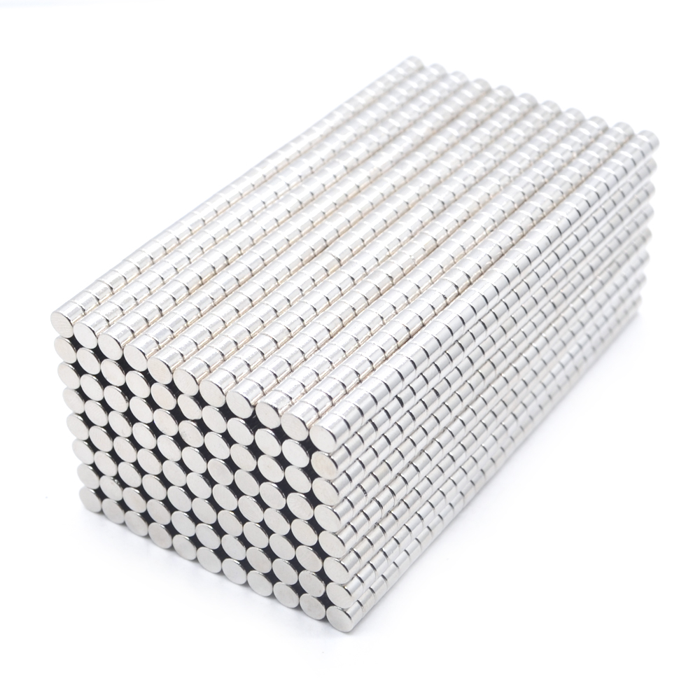 5000pcs Neodymium N35 Dia 4mm X 3mm Strong Magnets Tiny Disc NdFeB Rare Earth For Crafts Models Fridge Sticking magnet 4x3mm