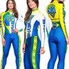 2019 pro equipe triathlon terno feminino camisa de ciclismo skinsuit macacão maillot ciclismo ropa ciclismo conjunto manga longa almofada gel 013 26