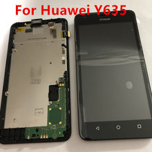 Original New For Huawei Y635 Y635-CL00 Y635-TL00 LCD Display Digitizer Touch Screen Assembly with Frame Y635-L01/L02/L03/L21 original new lcd screen 12 1 inches g121s1 l01