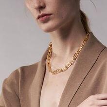 Ожерелья цепочки enfashion для женщин золотого цвета ожерелье