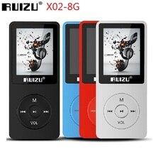 2021 Mới RUIZU X02 HiFi MP3 Nghe Nhạc 8GB Thể Thao MP3 Người Chơi Với Màn Hình 1.8 Inch Hỗ Trợ Đài FM, sách Điện Tử Đồng Hồ, Đầu Ghi