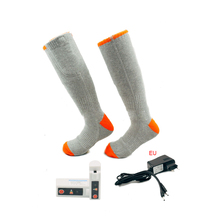 Battery Heated Socks, Best Rechargeable Operated Electric Socks Unisex Foot Warmers Thermal With 3 Heat Set