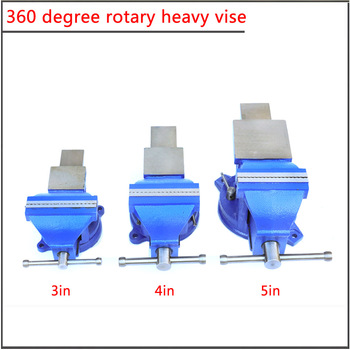 тиски TYPE 3`` 4in 5in 360 degree universal rotating heavy mini table vise,360 Universal simple vice