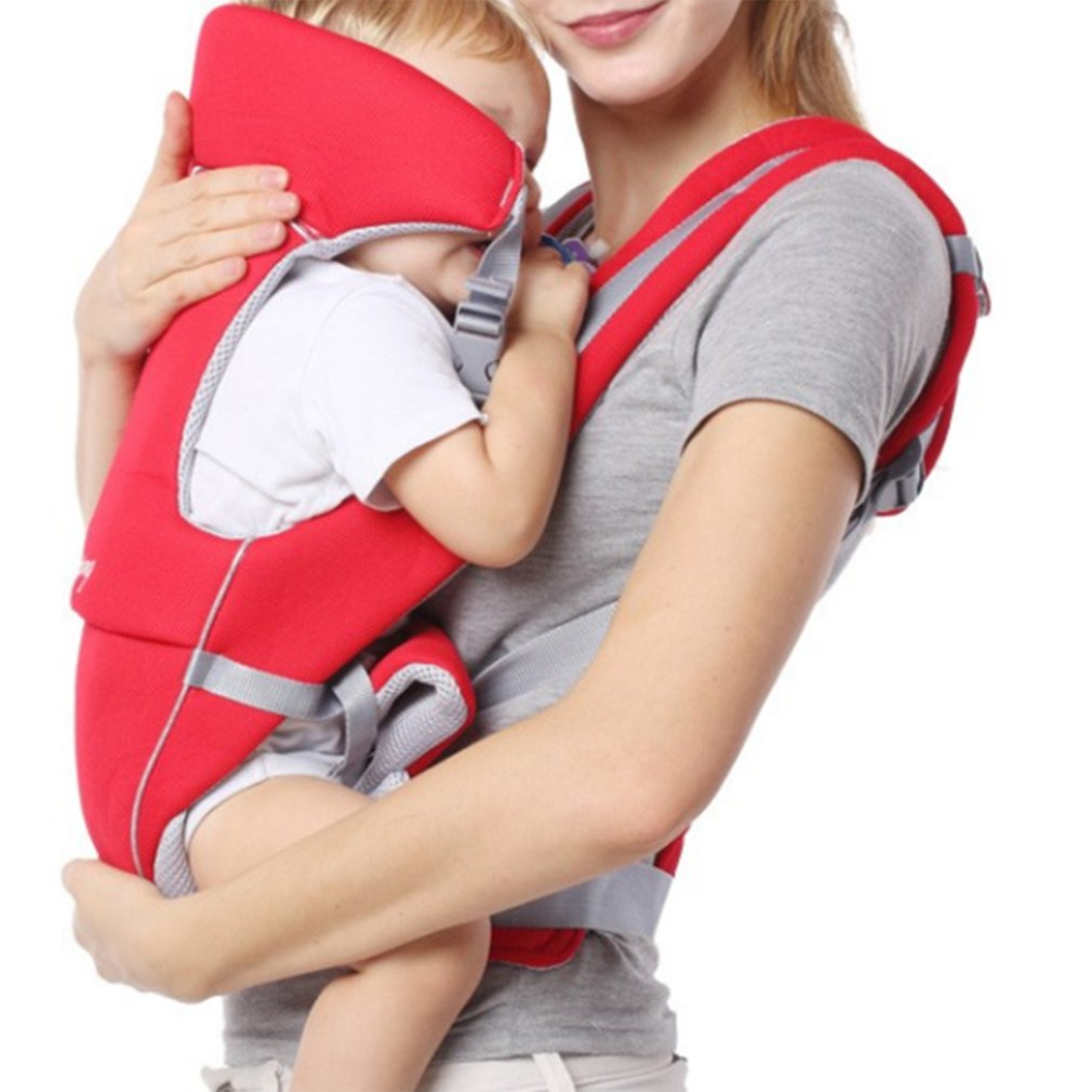 Breathable Ergonomic Baby Carrier Backpack Infant Baby Simple Toddler Cradle Pouch Sling Carrier Comfortable Adjustable Shoulder