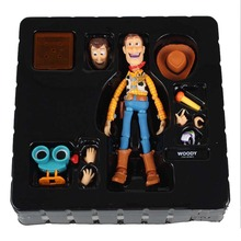 лучшая цена Woody Series NO. 010 Sci-Fi Revoltech Special PVC Action Figure Collectible Toy 16cm No Box