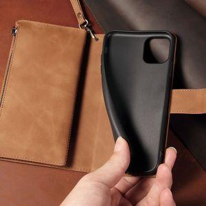 Image 5 - قسط زيبر محفظة جلدية الوجه الحال بالنسبة لسامسونج غالاكسي A10 A20 A30 A40 A50 A70 A21 A71 A51 غطاء حامل بطاقة Kickstand Coque