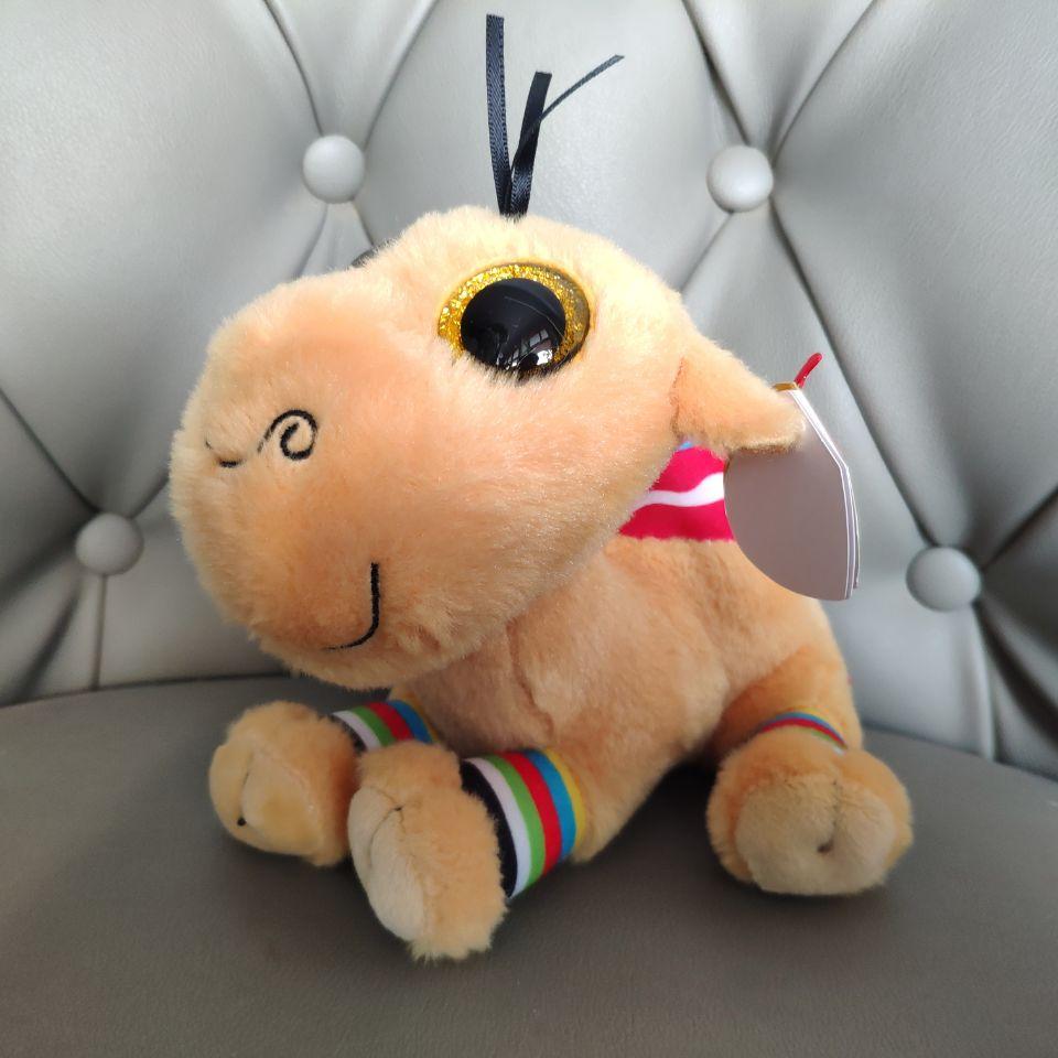 Jamal Camel Big Eyes Plush Toys Stuffed Animals Kids Toys Gift Soft Toys 15cm 6inch Nano Dolls Brown