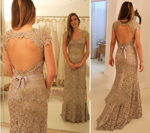 Vestido De Festa Robe De Soiree 2018 Lace Evening Mermaid Formal Gown Occasion Long Prom Gowns Mother Of The Bride Dresses