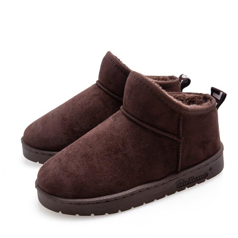 Купить короткие зимние ботинки mudibear для пар зимняя женская теплая