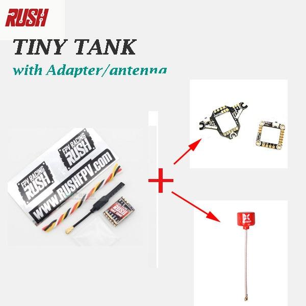 M./ Nuevo/RUSH Tiny TANK Nano /VTX Whoop VTX adaptador 48CH 350mW TBS SmartAudio transmisor de vídeo FPV 5V de entrada para Dron RC FPV