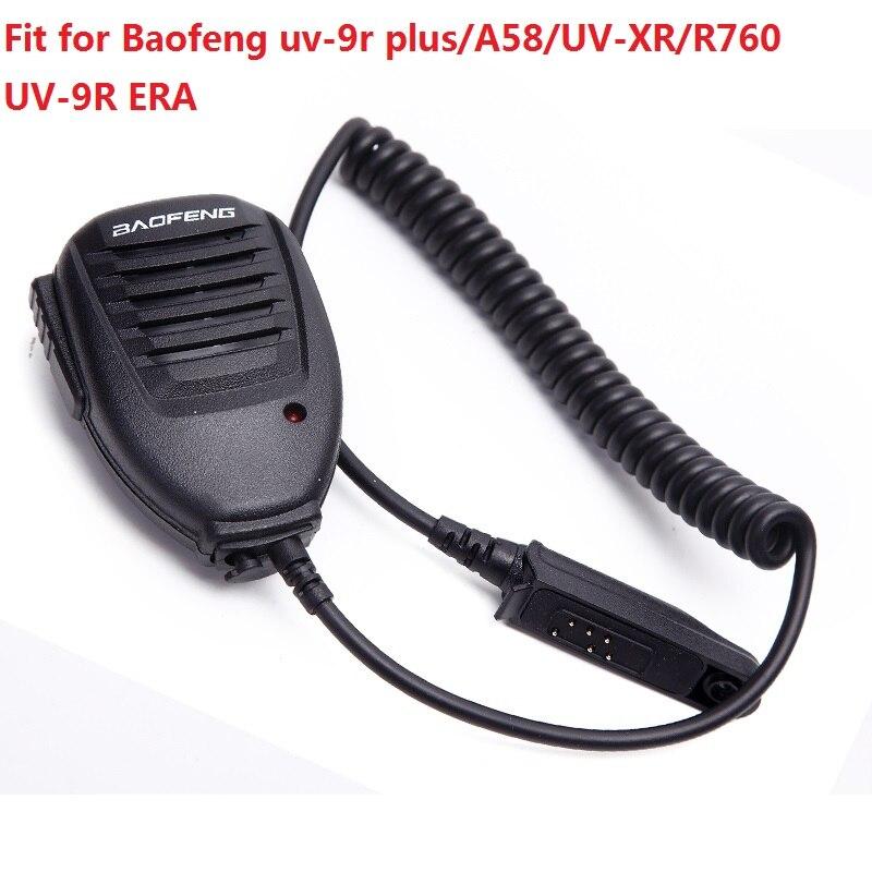 Портативная рация Baofeng с микрофоном, водонепроницаемая портативная рация