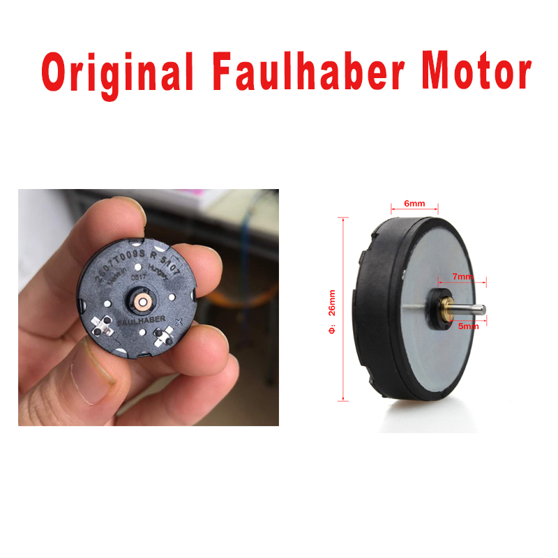 Replacement Original Faulhaber Motor Rotary Tattoo Machine Motor Liner & Shader replace Tattoo motor for Tattoo Rotary Gun-in Tattoo accesories from Beauty & Health