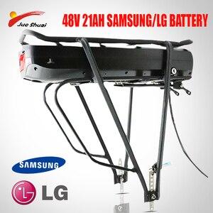 Электрический велосипед eBike 48 в 52 в 250 Вт-1000 Вт 48В 21А, задняя полка, аккумулятор Bafang BBS01 BBS02, двухслойная багажная сумка