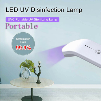 UV Light LED Ultraviolet Lamp Portable Cleaning for Home Travel Hotel Office HKS99
