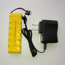 Buy MasterFire 8.4V 700mah 2/3AA NI-CD M Battery Deformation robot remote control vehicle Rechargeable Batteries with Plugs+Charger directly from merchant!